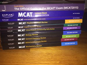 Kaplan MCAT Prep Books 2nd Edition for Sale in Bethesda, MD