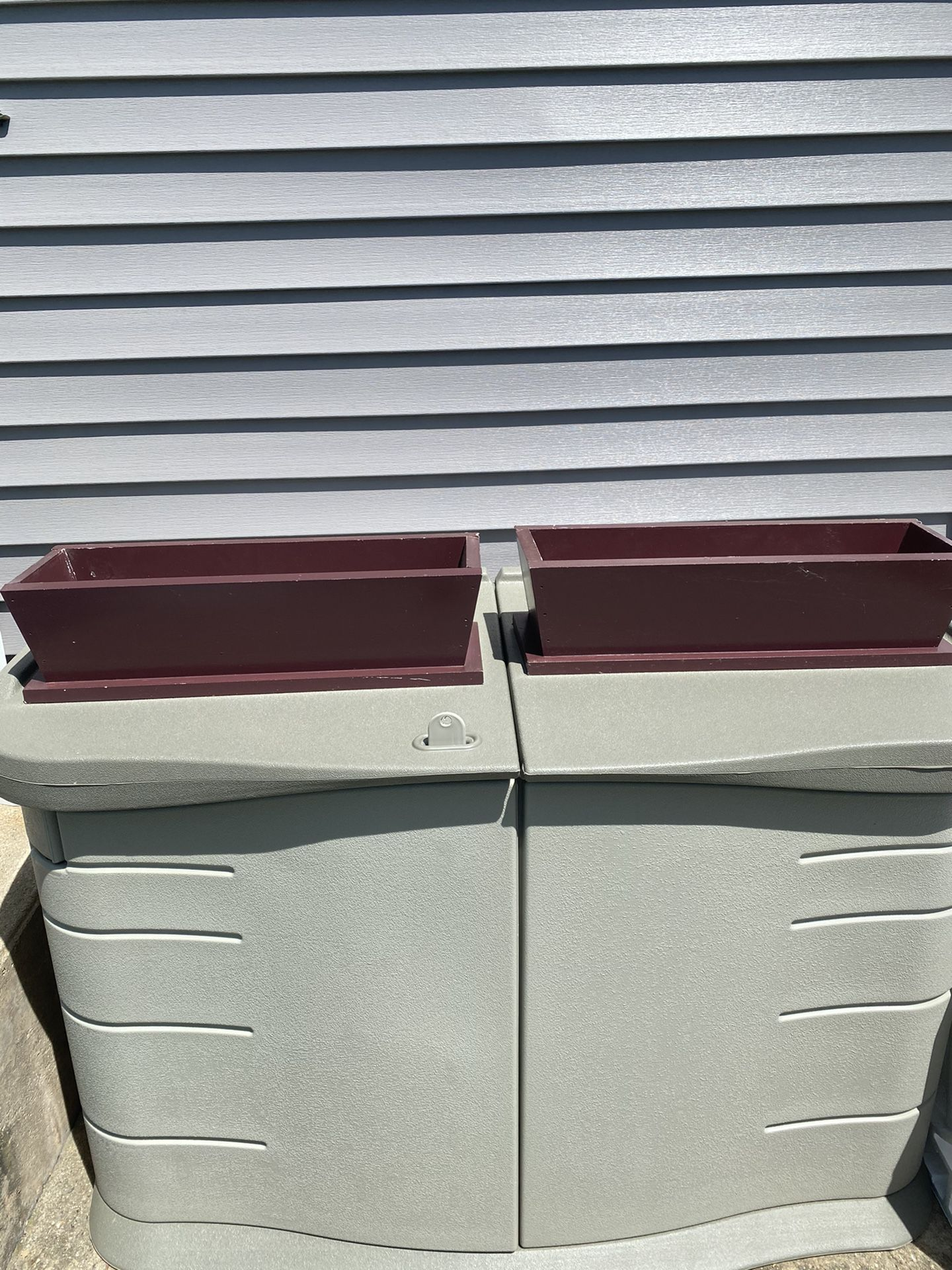 Set Of Two Window Flower Boxes