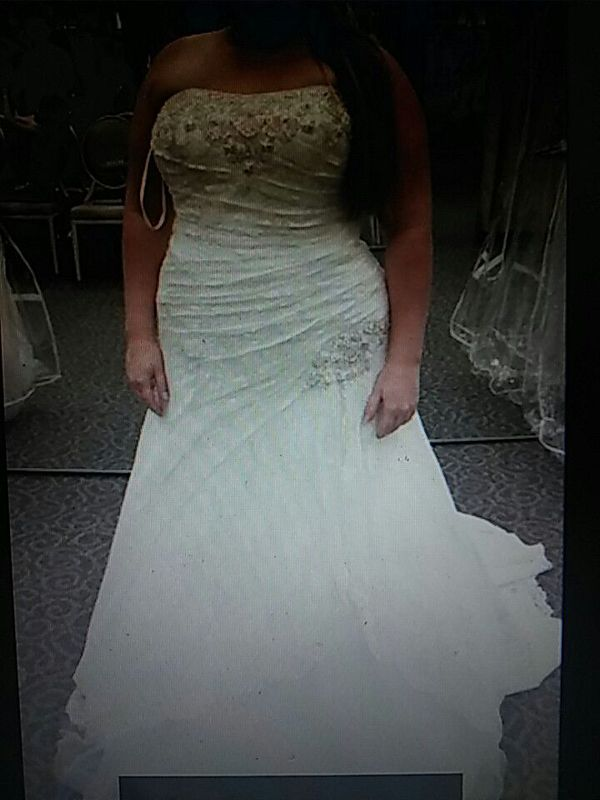 efa749288 Wedding Dress Size 16 Corset Top Only Wore It To Try On Found A