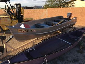 Boats For Sale In Az >> Aluminum Boats For Sale In Arizona Offerup