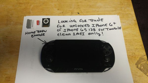 PSVITA with homebrew enabled firmware installed sdvita for Sale in Harvey,  IL - OfferUp