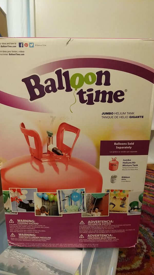 Balloon Time jumbo helium tank brand new for Sale in Asheville, NC - OfferUp