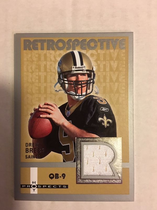 new style 4c4bb 57dda Fleer HP Drew Brees Game Worn Jersey Card for Sale in Torrance, CA - OfferUp