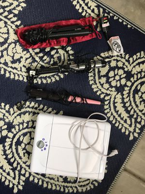 Hair straightener, curlers and mirror for Sale in San Diego, CA