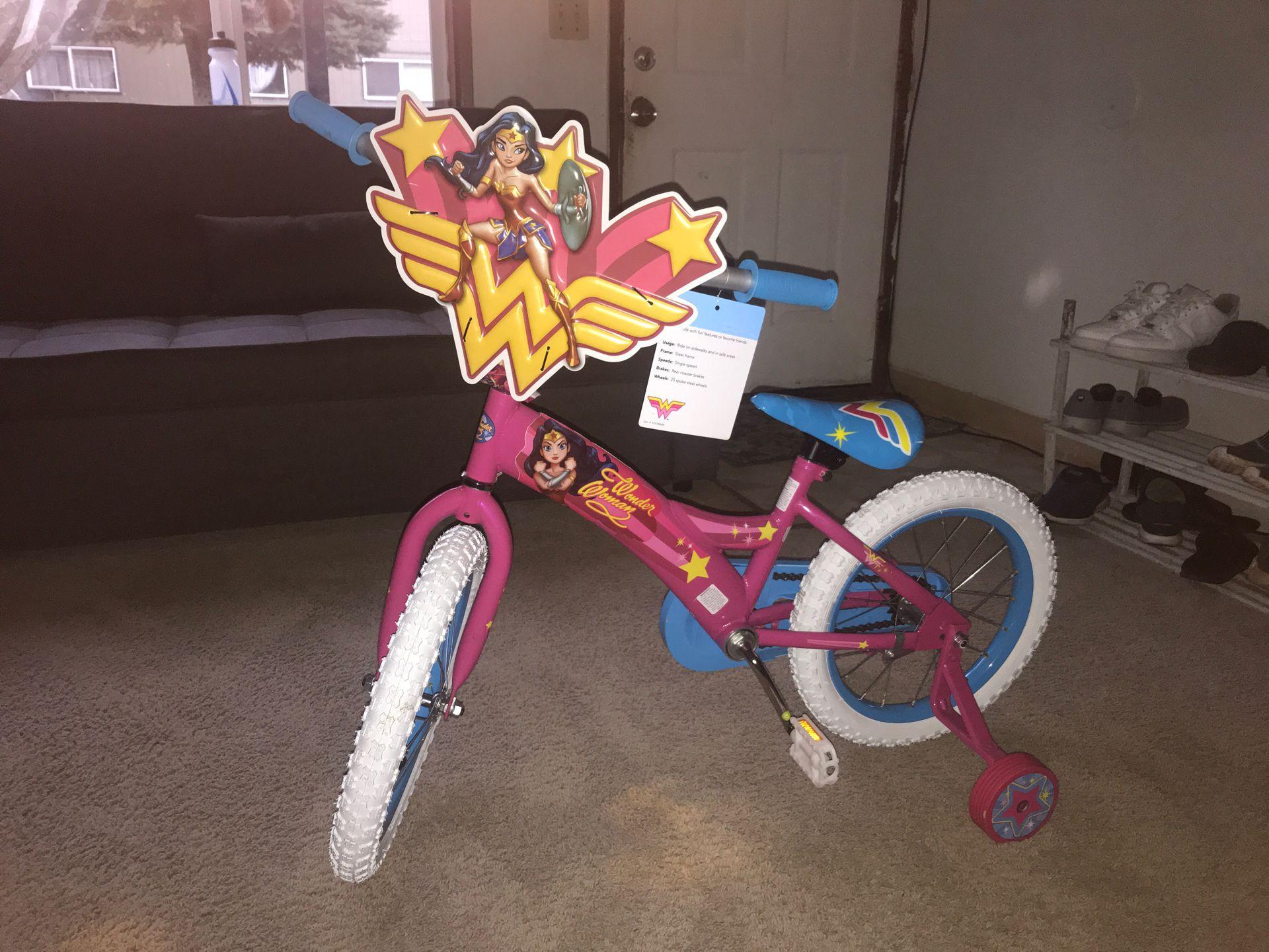 Wonder Woman Bicycle