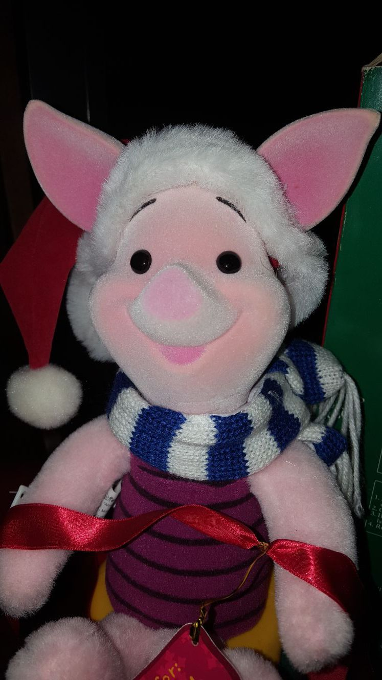 Christmas animated Piglet