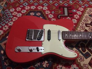 Fender Deluxe Nashville Tele - Fiesta Red (Electric guitar) for Sale in Silver Spring, MD
