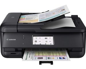 Canon PIXMA TR8520 Wireless Home Photo Office All-in-One Printer with Scanner, Copier and Fax: Airprint and Google Cloud Compatible, Black for Sale in Pompano Beach, FL