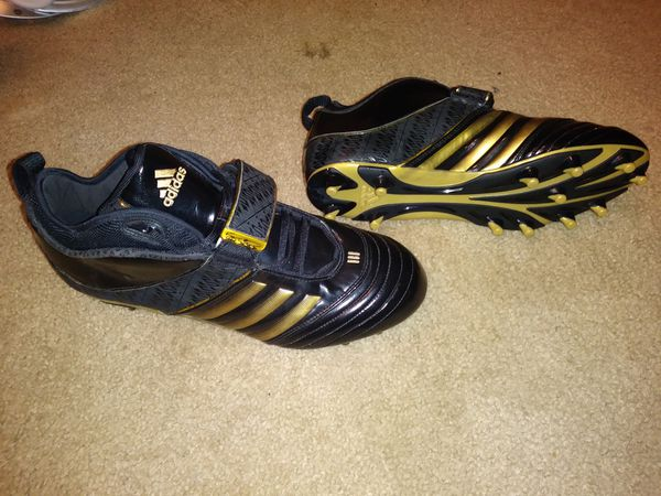 sports shoes 5036b 903bd Adidas RB619 Fly, Black   Gold Football Cleats Sz 12 (Sports   Outdoors) in  Wauwatosa, WI - OfferUp