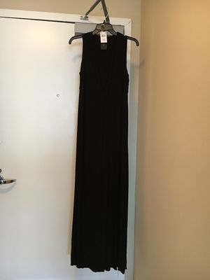 Rachel Zoe long maternity dress, black, , M, like new for Sale in Arlington, VA