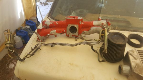Ej207 intake manifold with fuel lines for Sale in Divide, CO - OfferUp