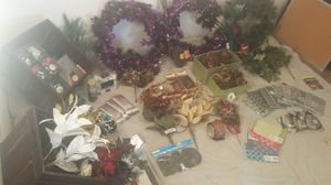 HOLIDAY BUNDLE!! NEW DECORATIONS, ORNAMENTS, FLOWERS, GIFTS for Sale in MD, US