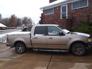2001 Ford F-150 crew cab supercrew for sale  Bristow, OK