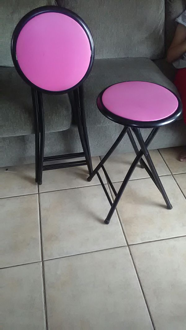 24 Pink Cushioned Folding Stool For Sale In Phoenix Az Offerup