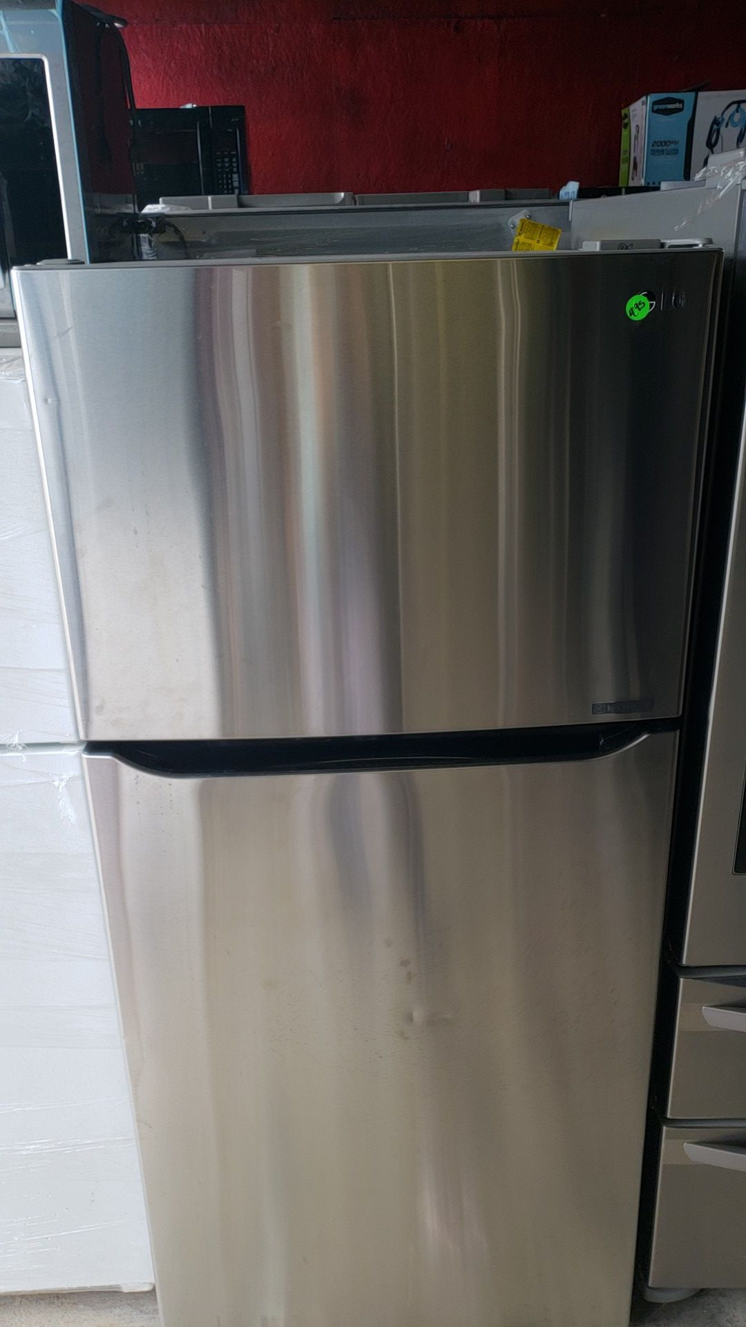 LG TOP BOTTOM STAINLESS STEEL NEW OF SHOWROOM