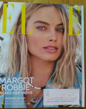 ELLE MAGAZINE February 2018 with MARGOT ROBBIE on cover never read. for Sale in Madison Heights, VA