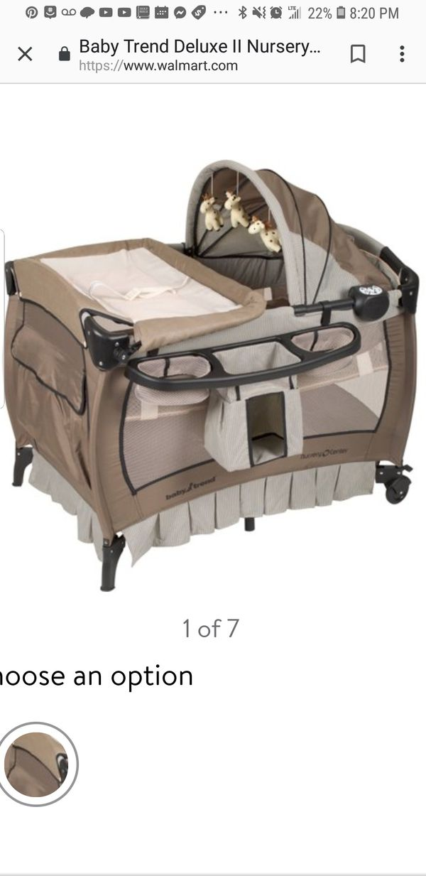 Baby Trend Deluxe Ii Nursery Center Playard Pack N Play For Sale In