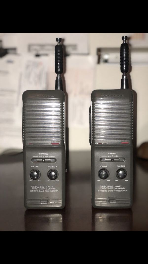 Realistic Walkie Talkie Trc 224 Citizens Band Radio 3
