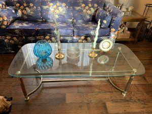 Glass coffee table for Sale in Lorton, VA