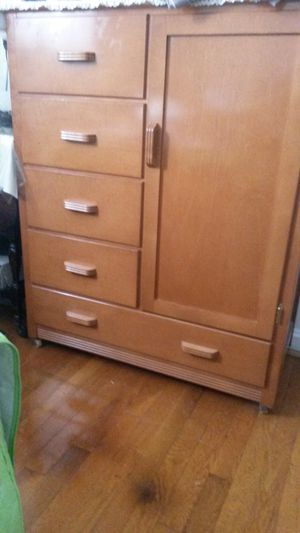Gorgeous solid maple wood dresser for Sale in Silver Spring, MD