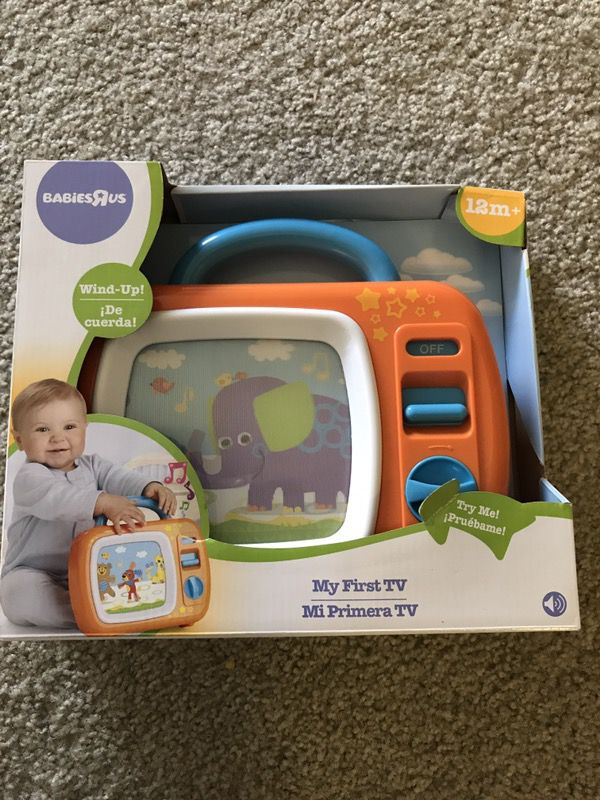 Babies R Us My First TV  New and unopened box  for Sale in South Jordan, UT  - OfferUp