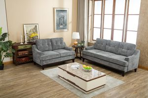 Grey Sofa and Loveseat *BRAND NEW* for Sale in Columbia, MD