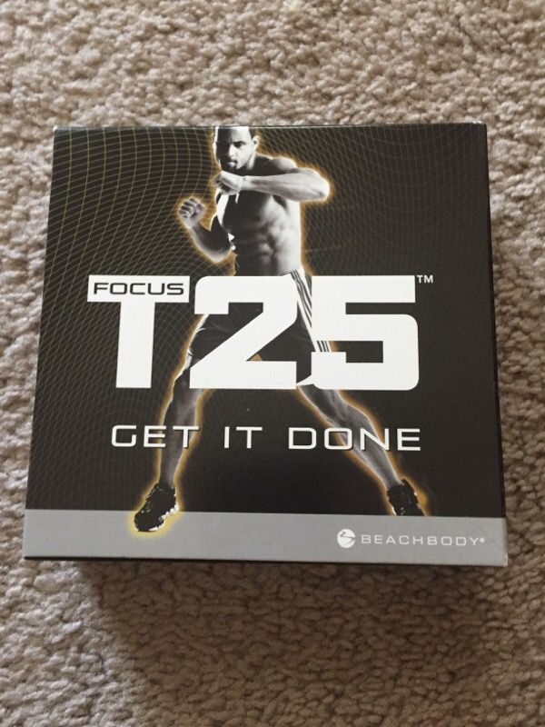 T25 exercise DVD