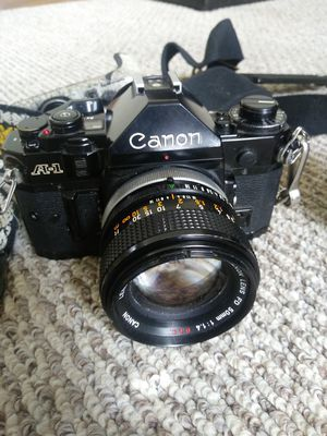 Canon a1 35mm camera for Sale in Noblesville, IN
