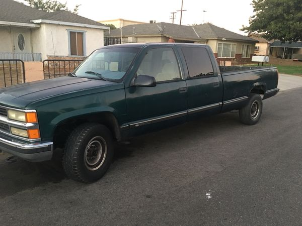 1998 Chevy 3500 Crew Cab For Sale ✓ All About Chevrolet