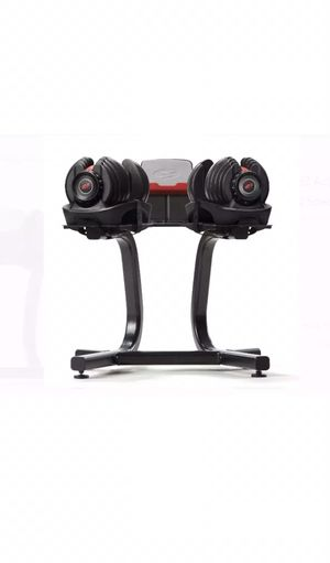 Dumbbells Set Rack Durable Molding Space Efficient 5-52 Lbs Smooth weights for Sale in Reno, NV