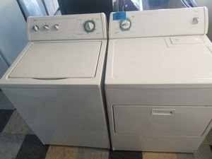 Whirlpool washer and electric dryer for Sale in Houston, TX