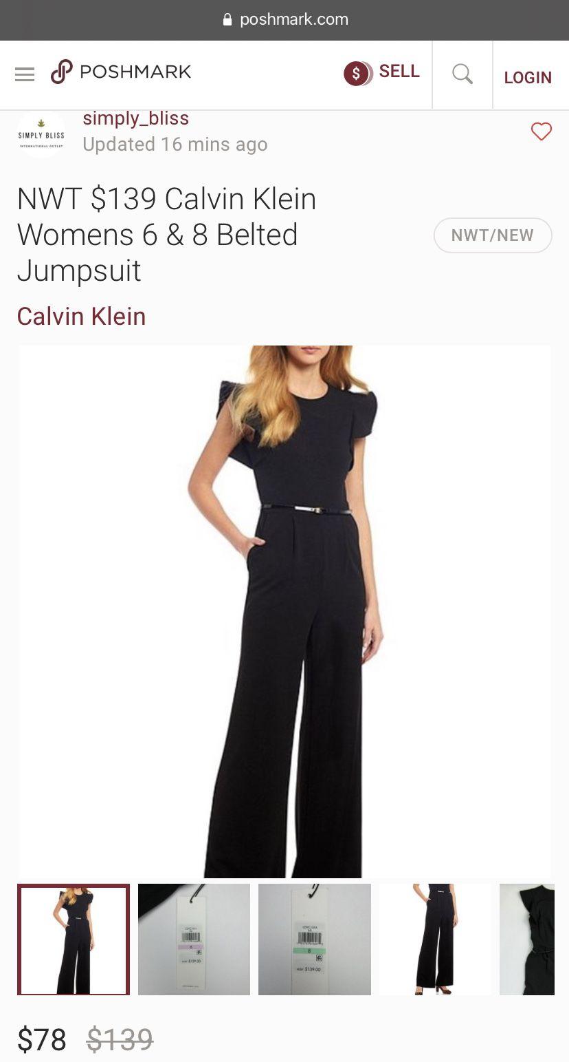 Calvin Klein One Piece Jumpsuit