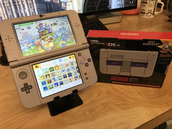 MODDED 128GB SNES 3DS XL 110+ games & NES/SNES Emulators for Sale in  Irvine, CA - OfferUp