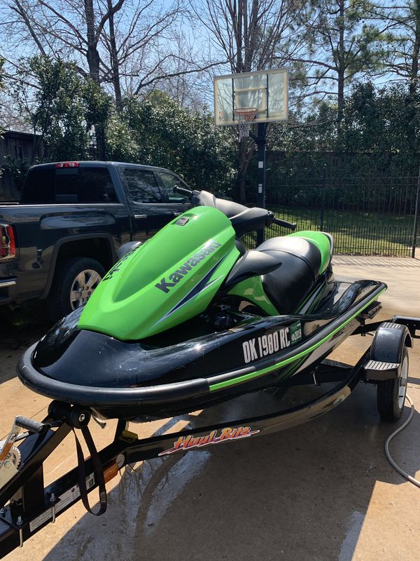 2016 kawasaki stx 15f with trailer (great condition only 29 hours)