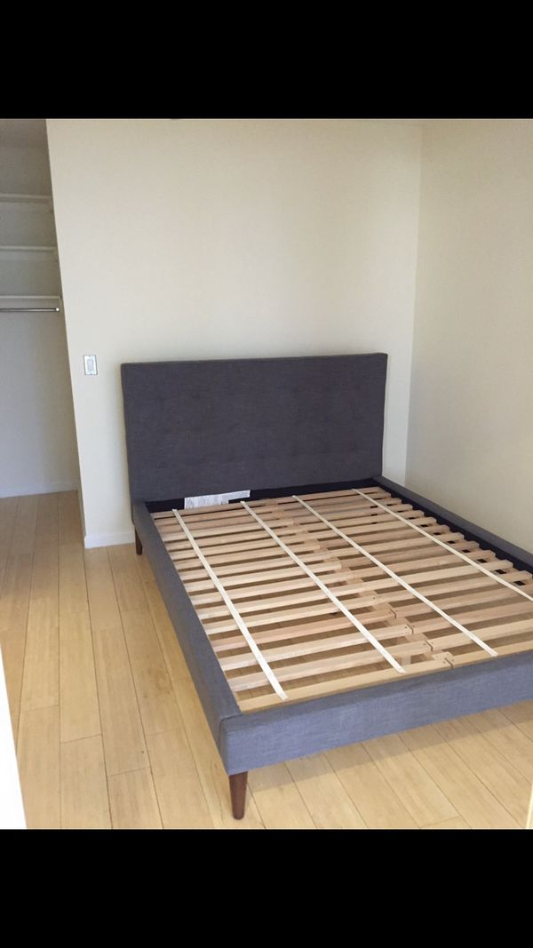 West Elm Bed Frame Queen For Sale In New York Ny Offerup