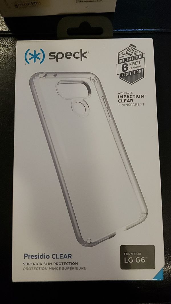 hot sales c293e d9568 Speck LG G6 clear cell phone case for Sale in Garden Grove, CA - OfferUp