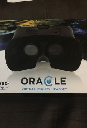 Oracle Virtual Reality Headset 360 for Sale in Cary, NC