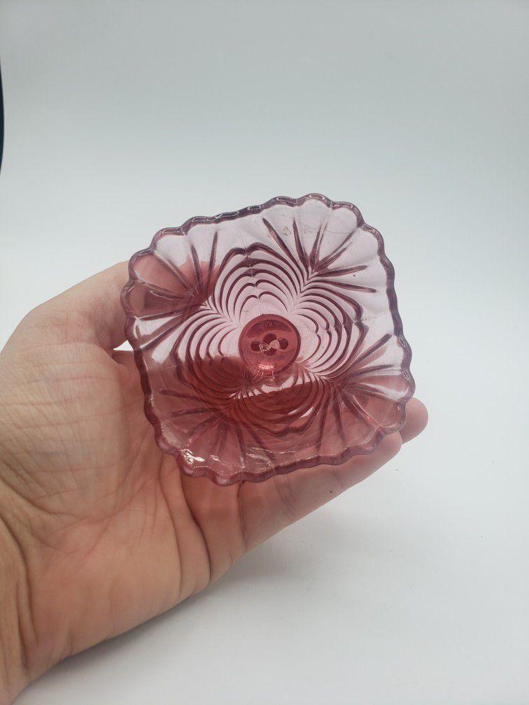 Fenton Dusty Rose Beauty Bell