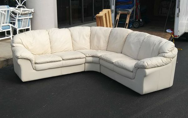 3 Pc Leather Sectional Sofa For Sale In West Palm Beach Fl Offerup