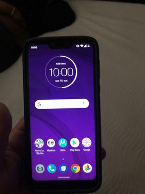 Photo PAID 125 NEW MOTO G 7 POWER 6.7 DISPLAY FOR MOVIES I WANT 95$ firm COMES WITH CASE AND CHARGER