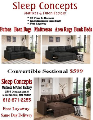 New and Used Sleeper sectional for Sale in Mankato, MN - OfferUp