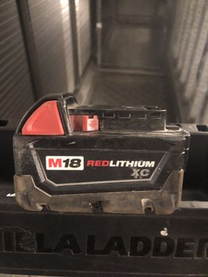 Milwaukee battery with charger for Sale in Annandale, VA