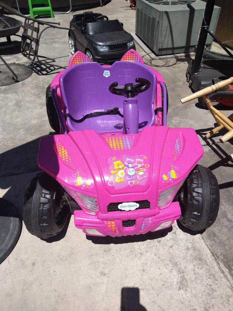 Girls Car  Toy