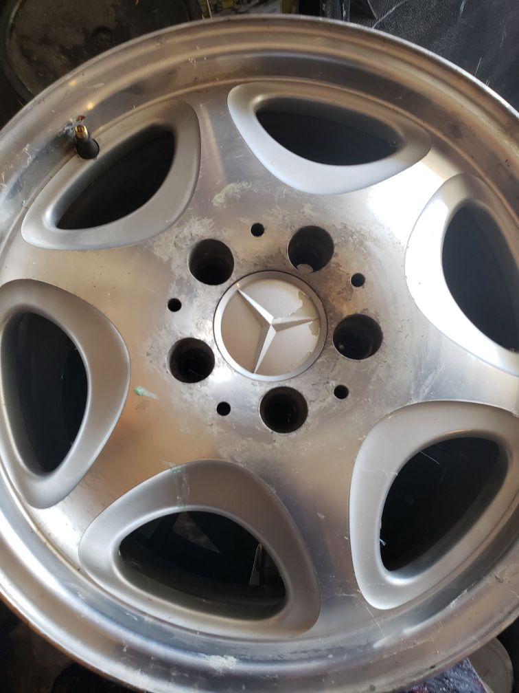 Benz rims