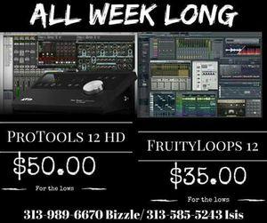 Protools 12 HD fl12 for Sale in Detroit, MI