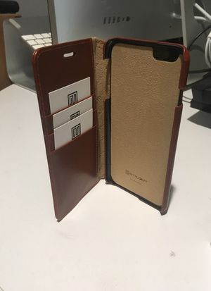 Leather iPhone 6 Plus case/wallet for Sale in San Francisco, CA