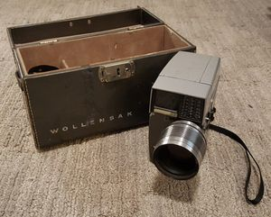 Wollensak Power Zoom, 8mm Eye-matic Spool, Vintage Movie Camera for Sale in Seattle, WA