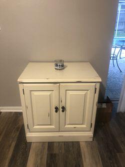 Rustic look cream cabinet Thumbnail