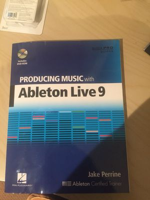 Ableton live 9 guide book for Sale in Issaquah, WA