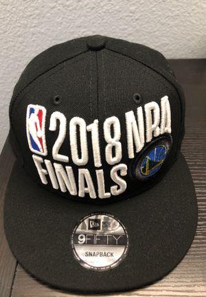 889acecc5b7 Warriors NBA 2018 Finals SnapBack for Sale in Castro Valley